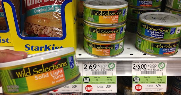 Wild Selections Tuna at Publix