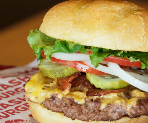 picture relating to Smashburger Printable Coupon titled Smashburger Coupon for Purchase Just one Get hold of One particular for $1 - Printable