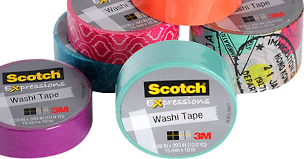 Scotch Expressions Tape at Dollar Tree