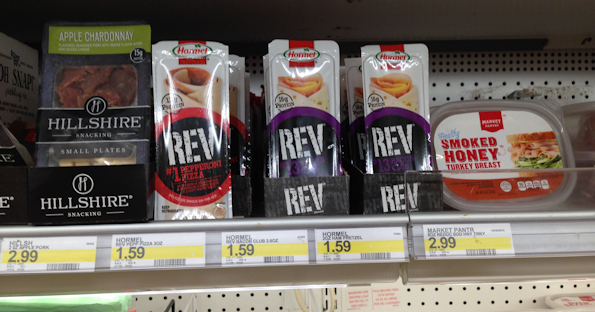 Hormel Rev Snacks at Target