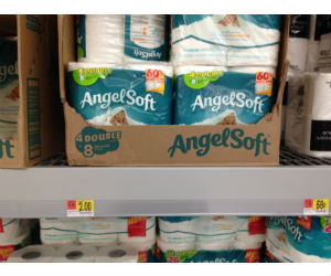 Angel Soft Bath Tissue at Walmart