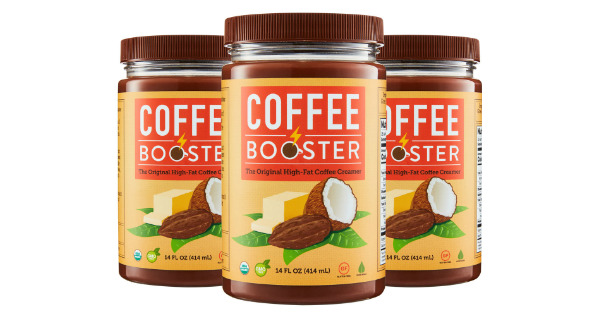 FREE Sample of Coffee Booster.