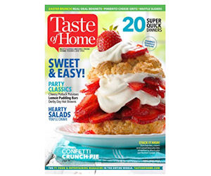 FREE Subscription to Taste of.
