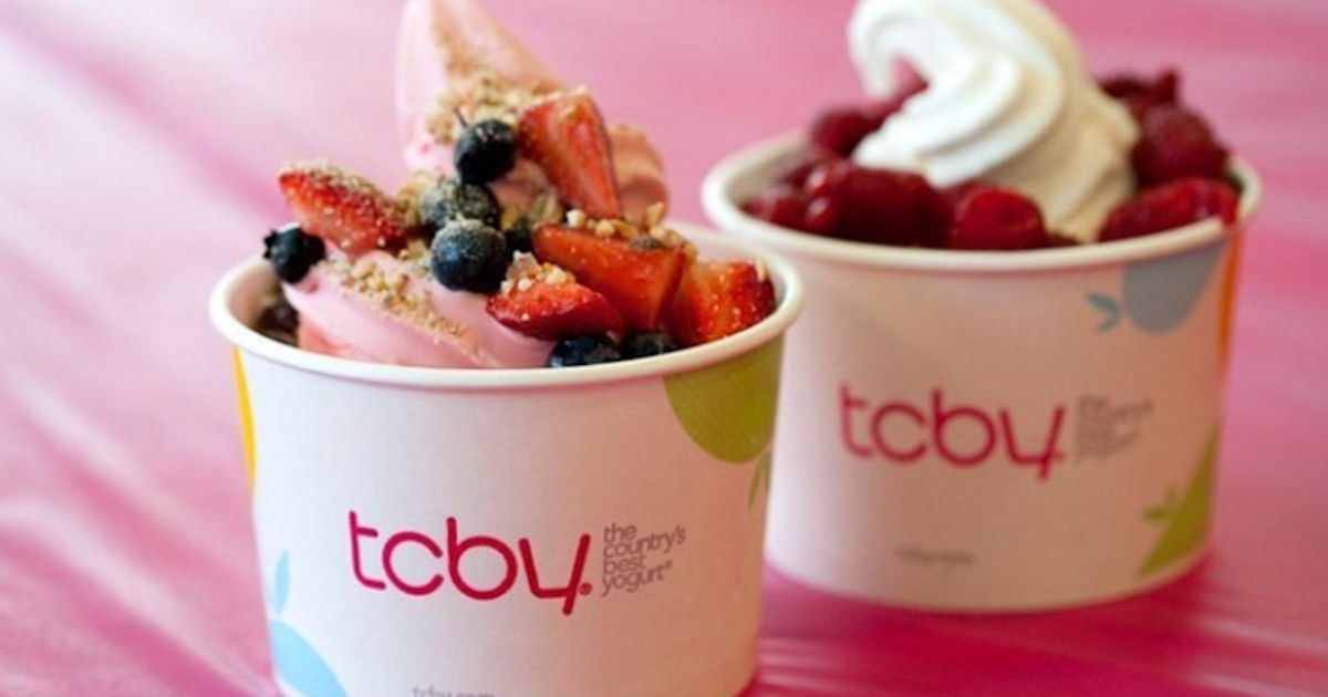 FREE $5 Credit with the TCBY A...