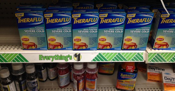 Theraflu at Dollar Tree