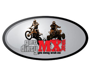 Get Dirty MX Motocross Sticker