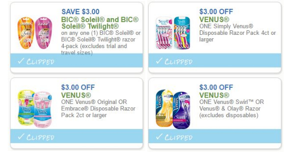 photo about Venus Printable Coupons called June Shaving Price savings, Print Currently - Printable Discount codes