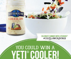 Win Yeti Coolers In The Litehouse Foods Coleslaw