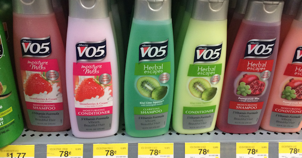 VO5 Shampoo and Conditioner at Walmart