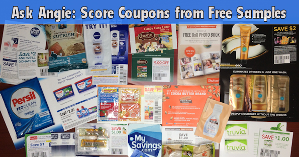 Ask Angie: Score Coupons from Free Samples