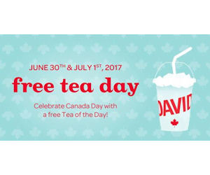 David's tea canada coupons
