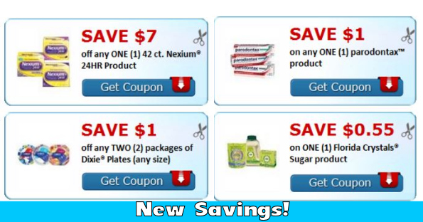 picture regarding Nexium Printable Coupon called Contemporary Price savings upon Dixie Plates, Nexium, Persil and Much more