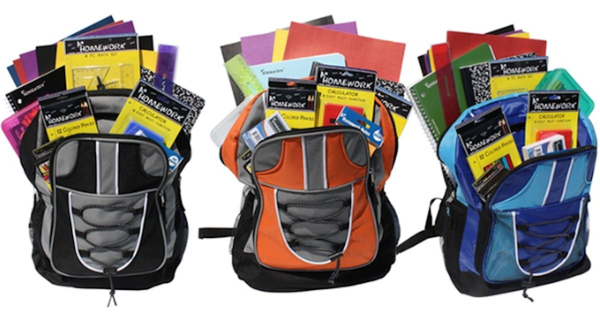 Free TCC Stores Backpack & School Supplies - Today - Free Product