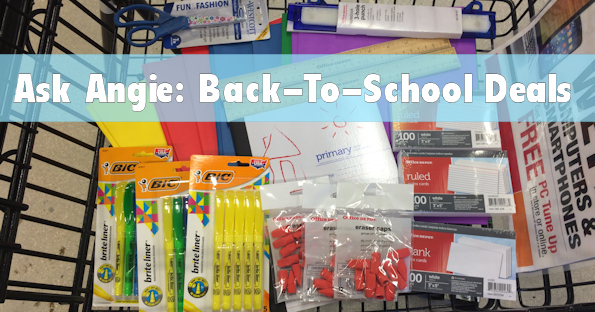 Ask Angie: Office Depot Back-To-School Sales