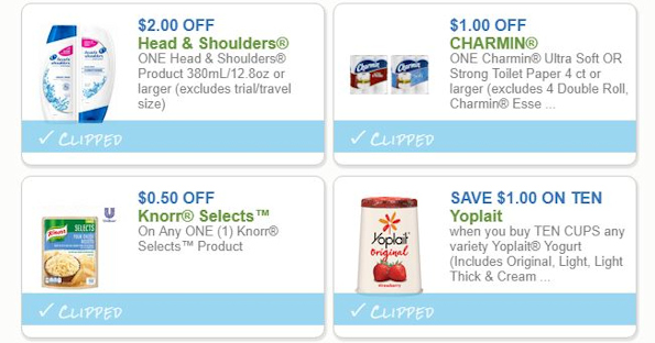 Save on Charmin, Head & Shoulders and More