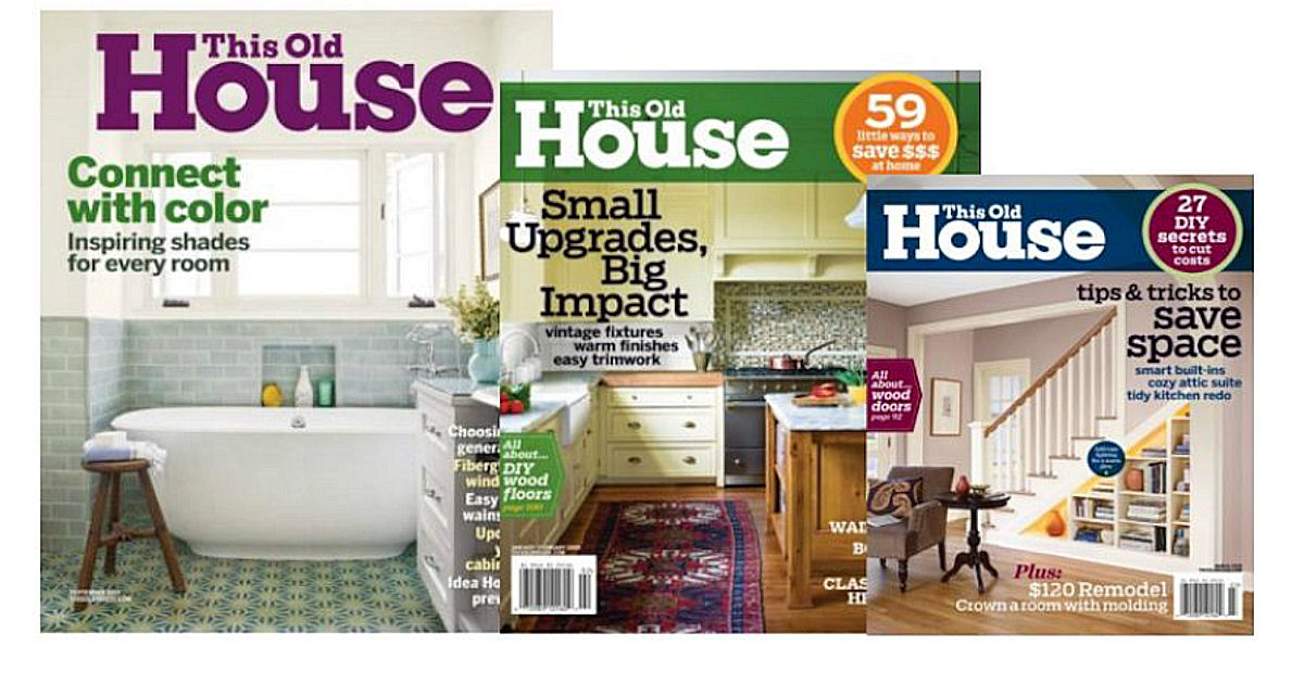 Free Subscription To This Old House Magazine