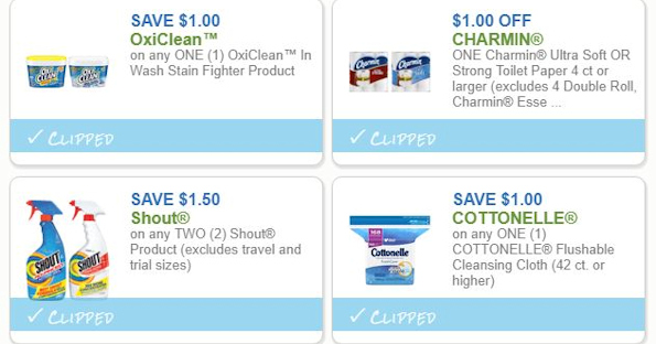 Save on OxiClean, Cottonelle and More