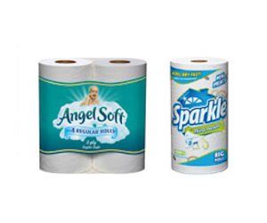 Sparkle tissue paper coupons