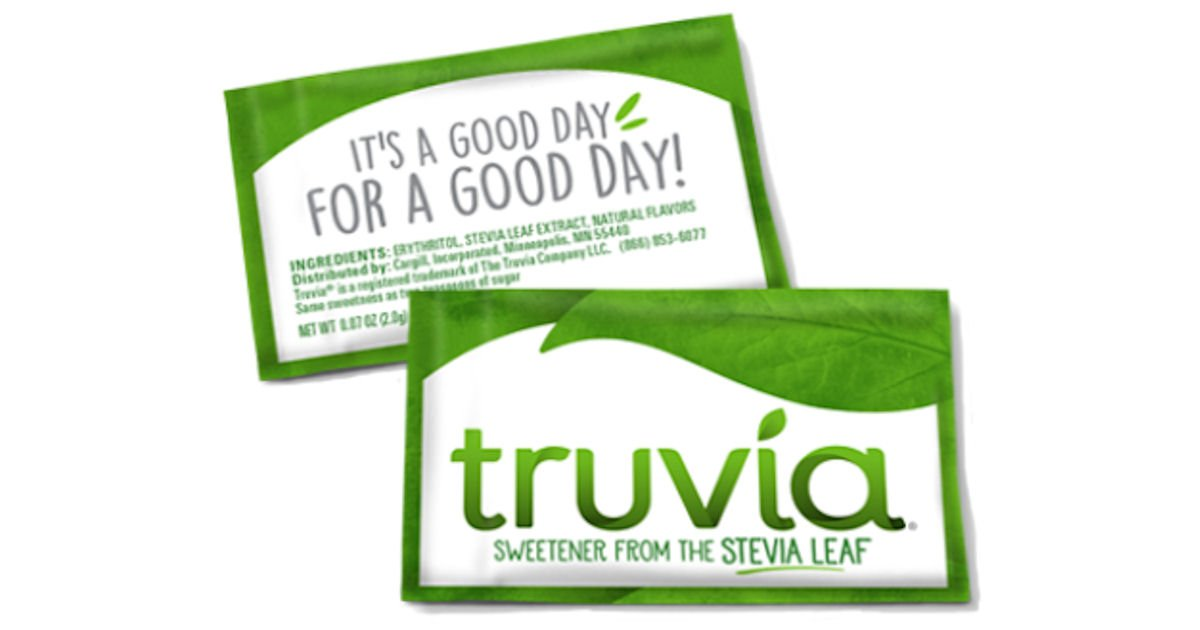 FREE Sample of Truvia Natural.