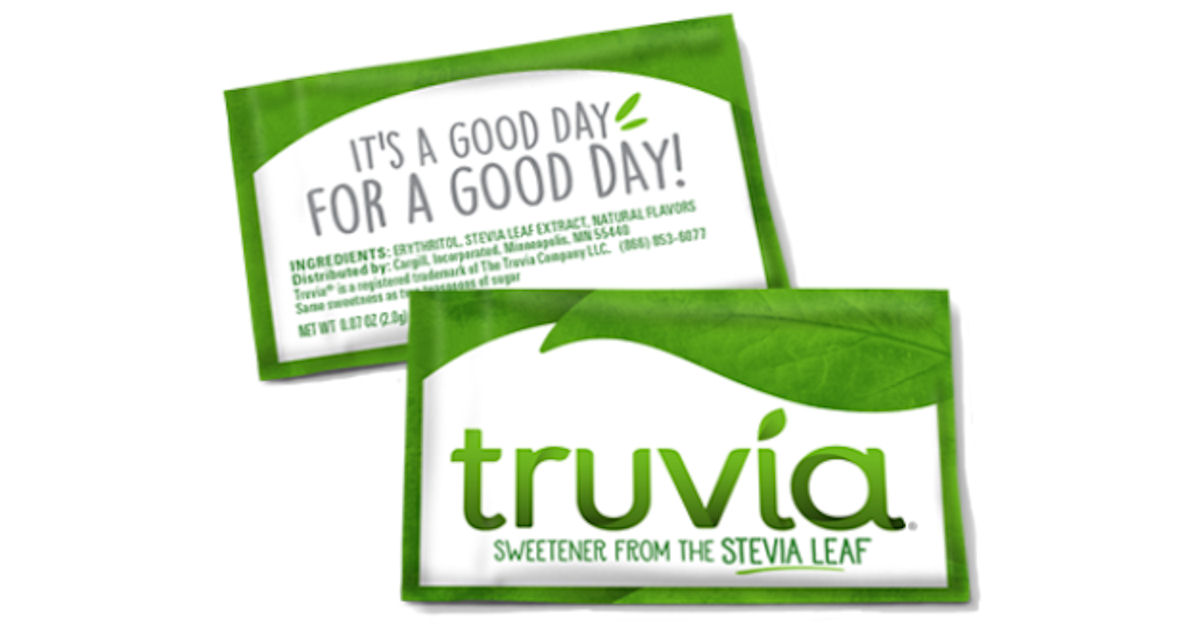 Truvia Natural Sweetener - Get 2 Free Sachet samples!