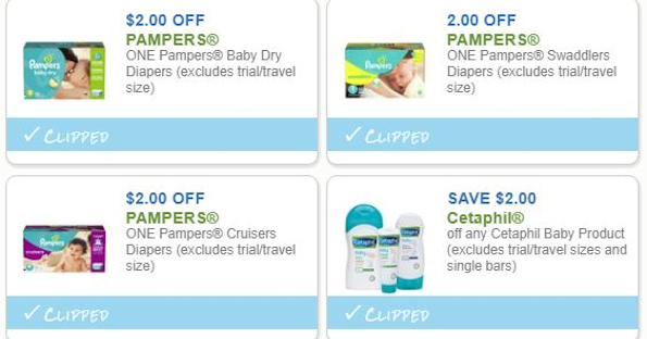 Pampers and Baby Savings