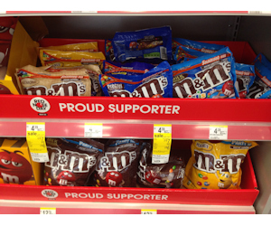 M&M's at Walgreens