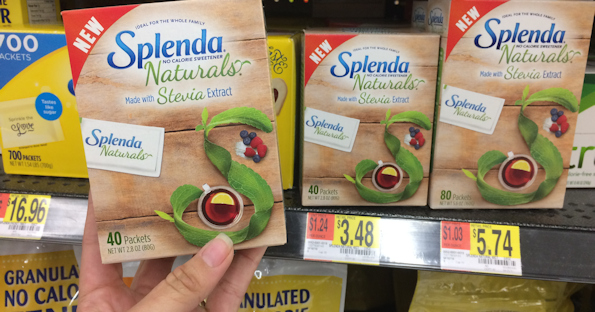 Splenda Naturals Sweetener at Walmart