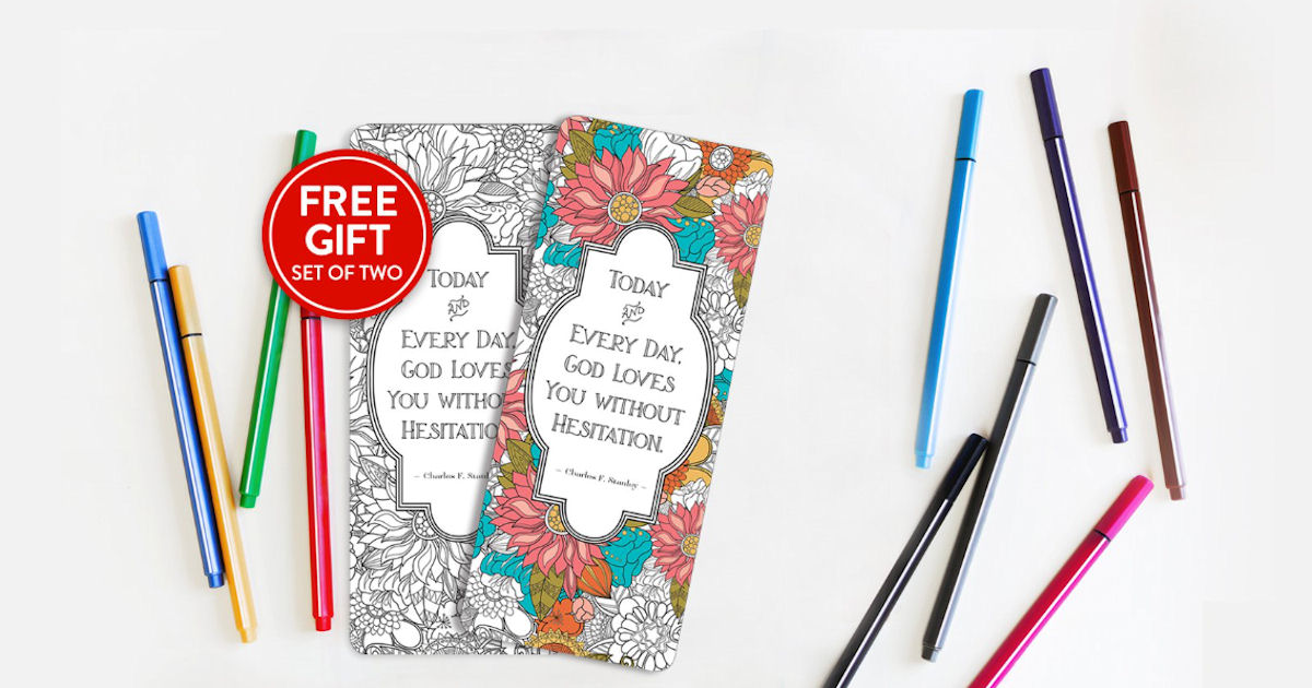FREE Set of Coloring Bookmarks...