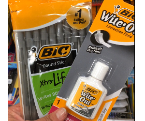 BIC Stationary Products at Target
