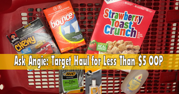 Ask Angie: Target Haul