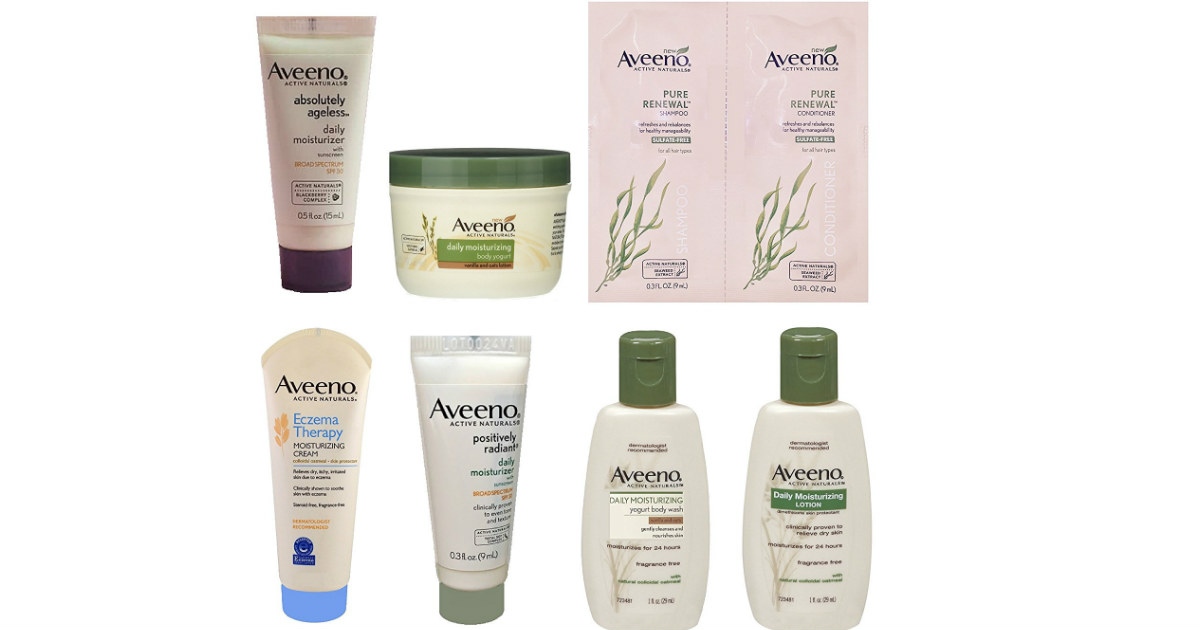 FREE Aveeno Sample Box After Amazon Credit, Still Available