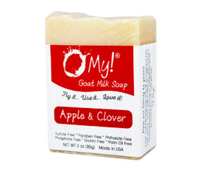 FREE Sample of O My! Goat Milk...