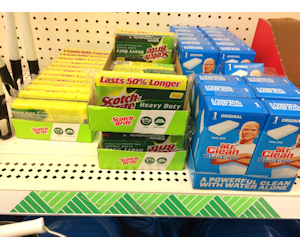 Scotch-Brite Spinges at Dollar Tree