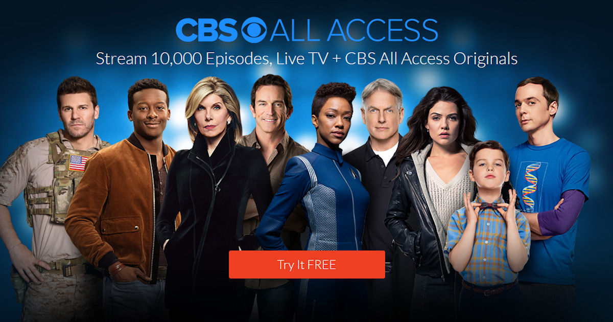 CBS All Access on Amazon