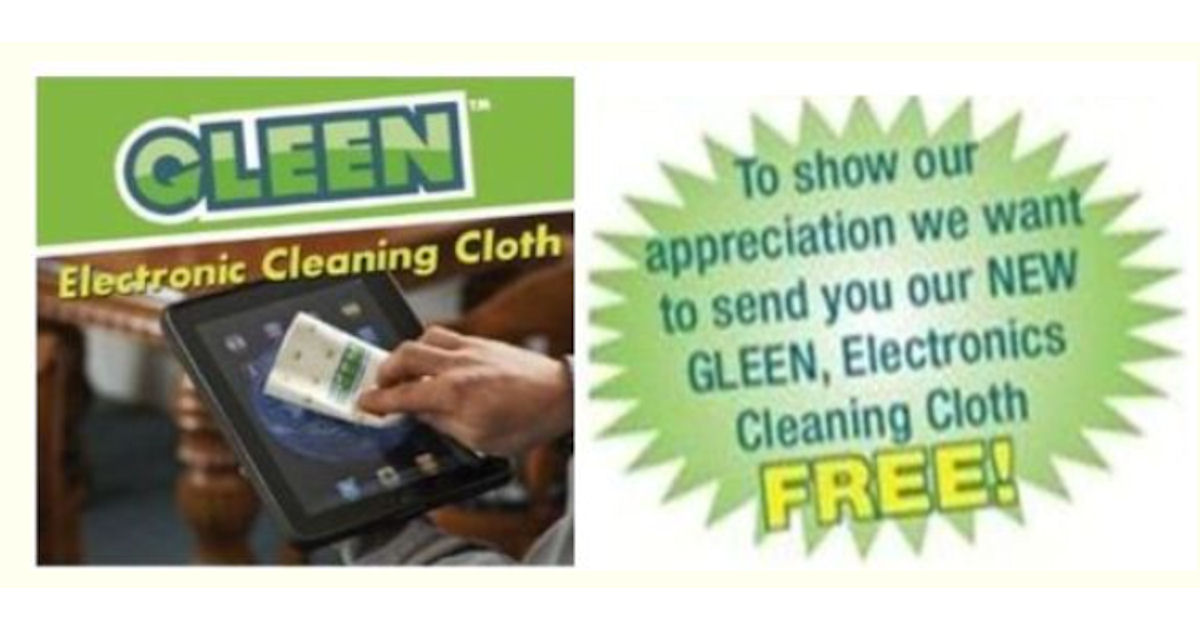 FREE Gleen Electronics Cleanin...