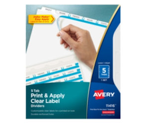 FREE Sample of Avery Printable...