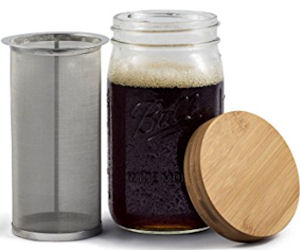 Mason Jar Cold Brew Maker