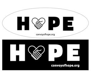 FREE Hope Stickers...