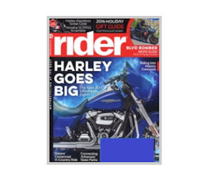 FREE Subscription to Rider Mag...