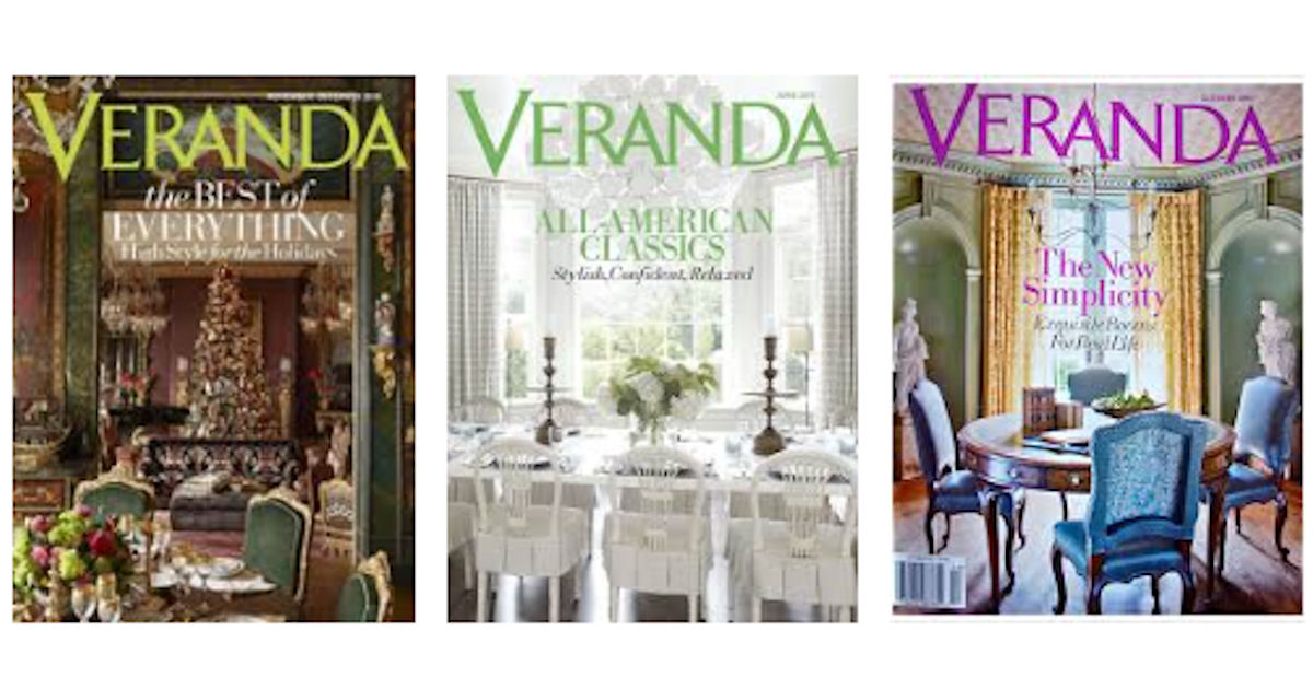 FREE Subscription to Veranda M...