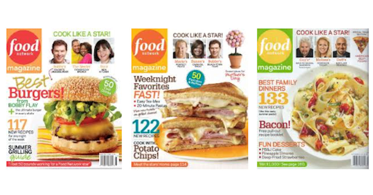 FREE Subscription to Food Netw...