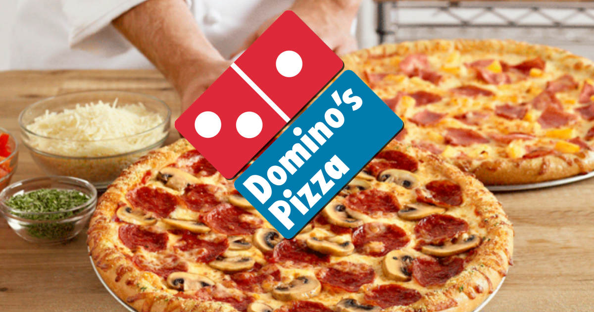 Earn FREE Domino's Pizza...