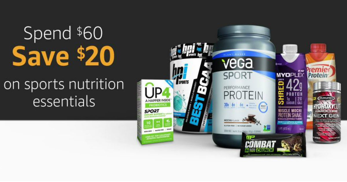 Sport Nutrition Products on Amazon