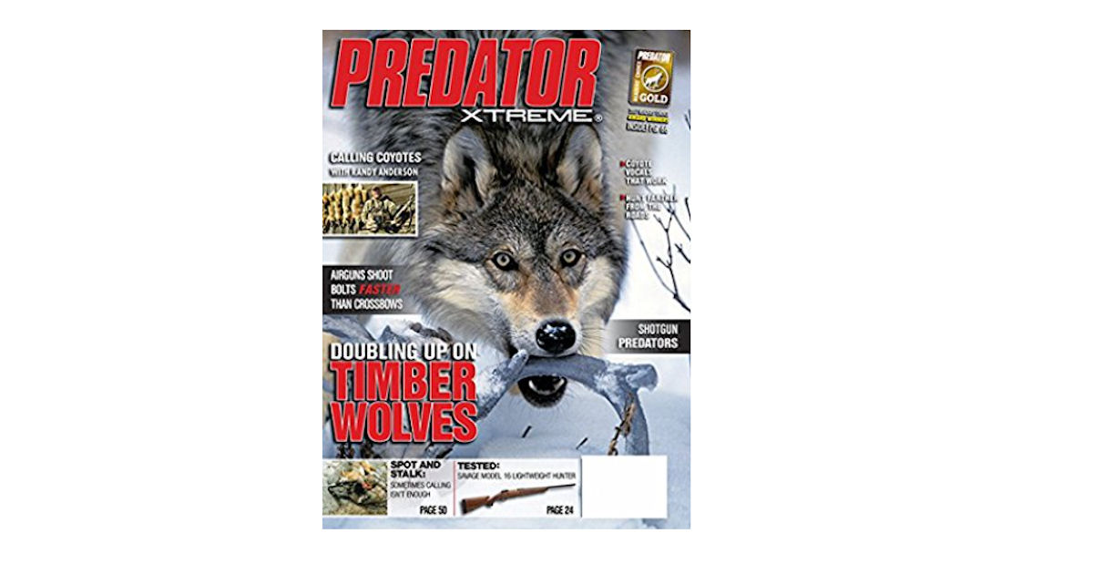 FREE Subscription to Predator.