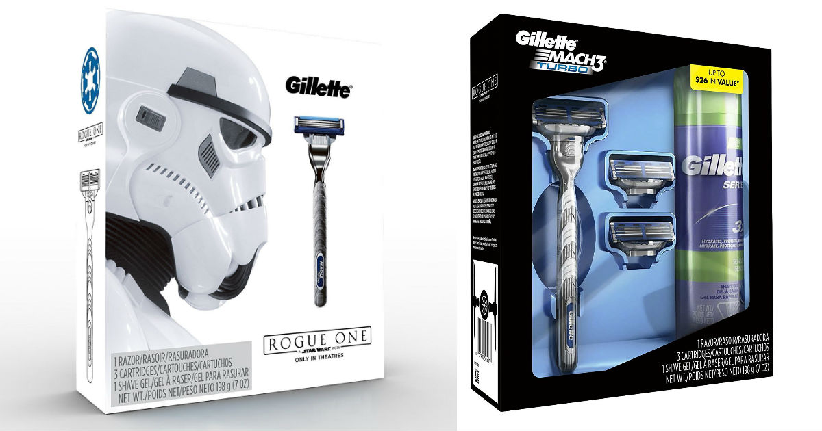 Star Wars Gillette Mach3 Turb.