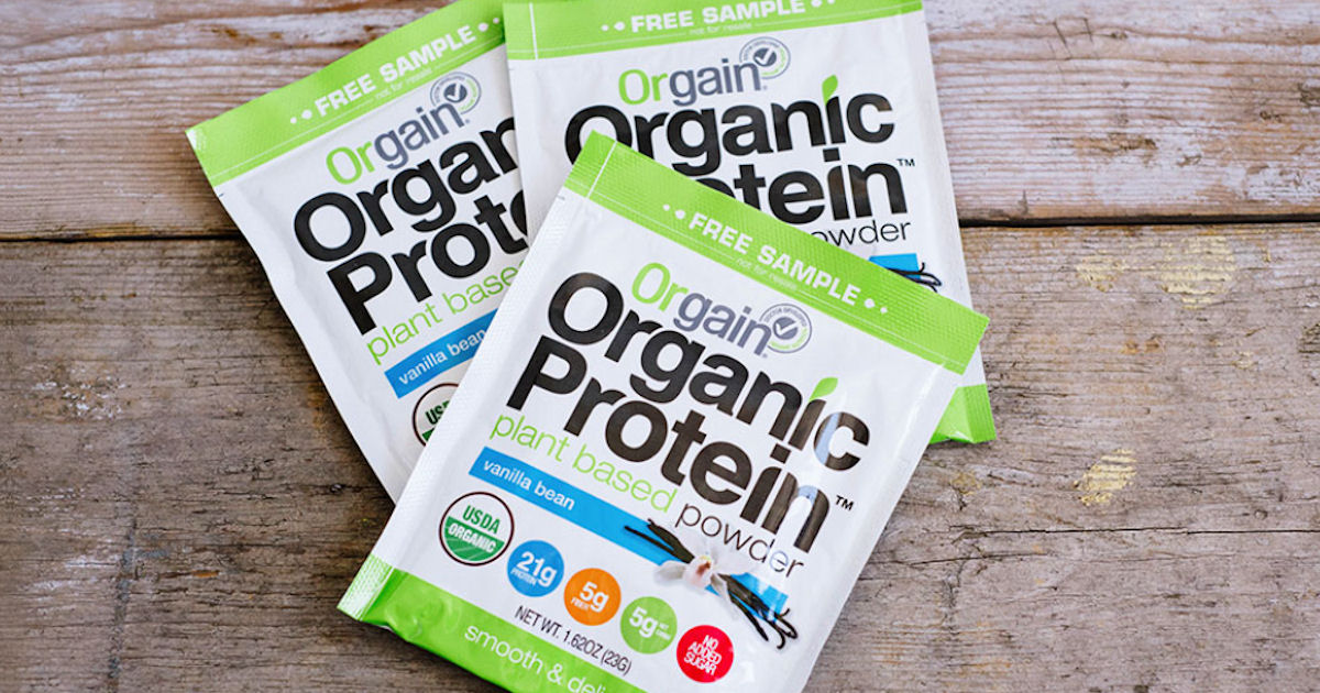 FREE Sample of Orgain Organic.