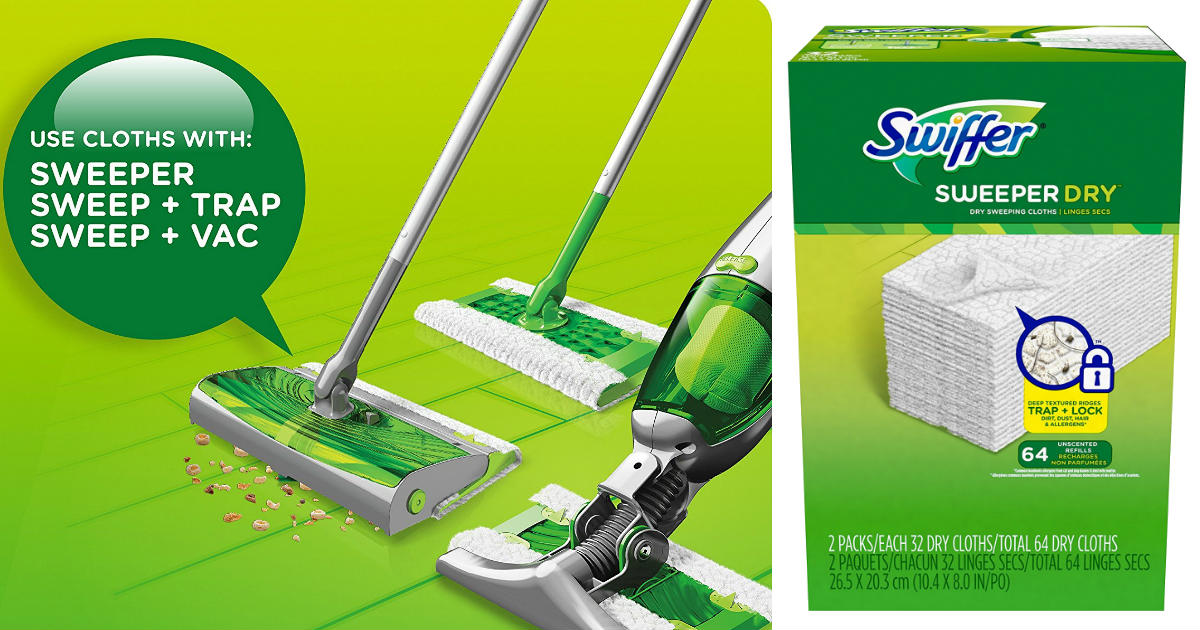 Swiffer Sweeper Dry Pad Refill...