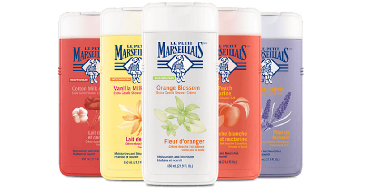 free le petit marseillais body wash with home tester club
