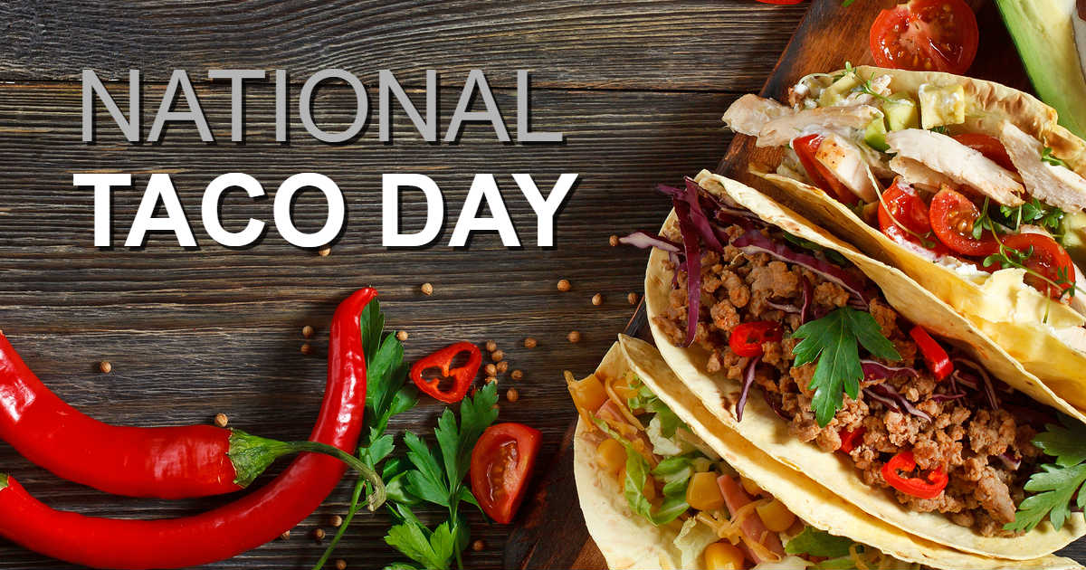 Cheap Free Tacos For National Taco Day Today Free Product Samples