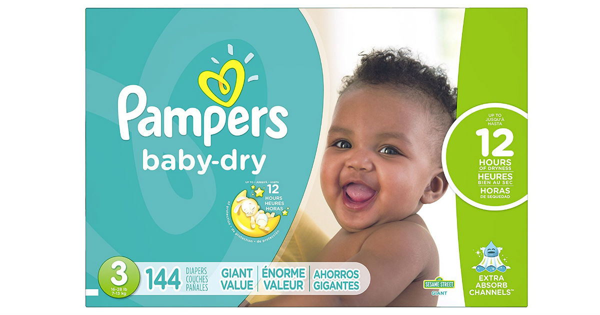 Pampers Diapers on Amazon